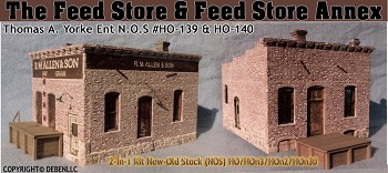 FEED STORE & FEED STORE ANNEX 2-in-1 KIT NOS YORKE/HO/HON3/HON3O