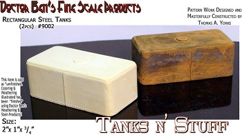 Rectangular Steel Tanks (2pc) Scale Model Masterpieces/Yorke Multi Scale