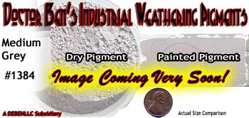 Shadow Grey Weathering Pigment-2oz Doctor Ben's Scale Consortium