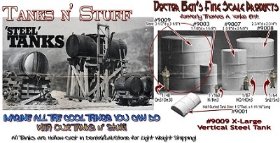 Vertical Round Steel Tank X-Large Scale Model Masterpieces/Yorke
