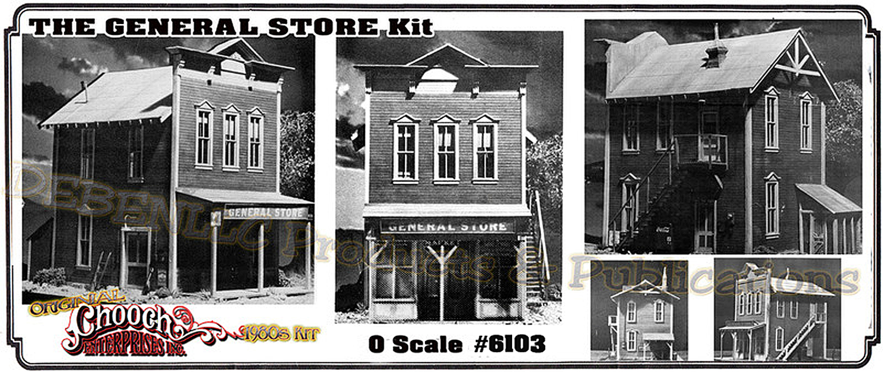 General Store 2-Story KIT CHOOCH MIB O/ON3/ON30