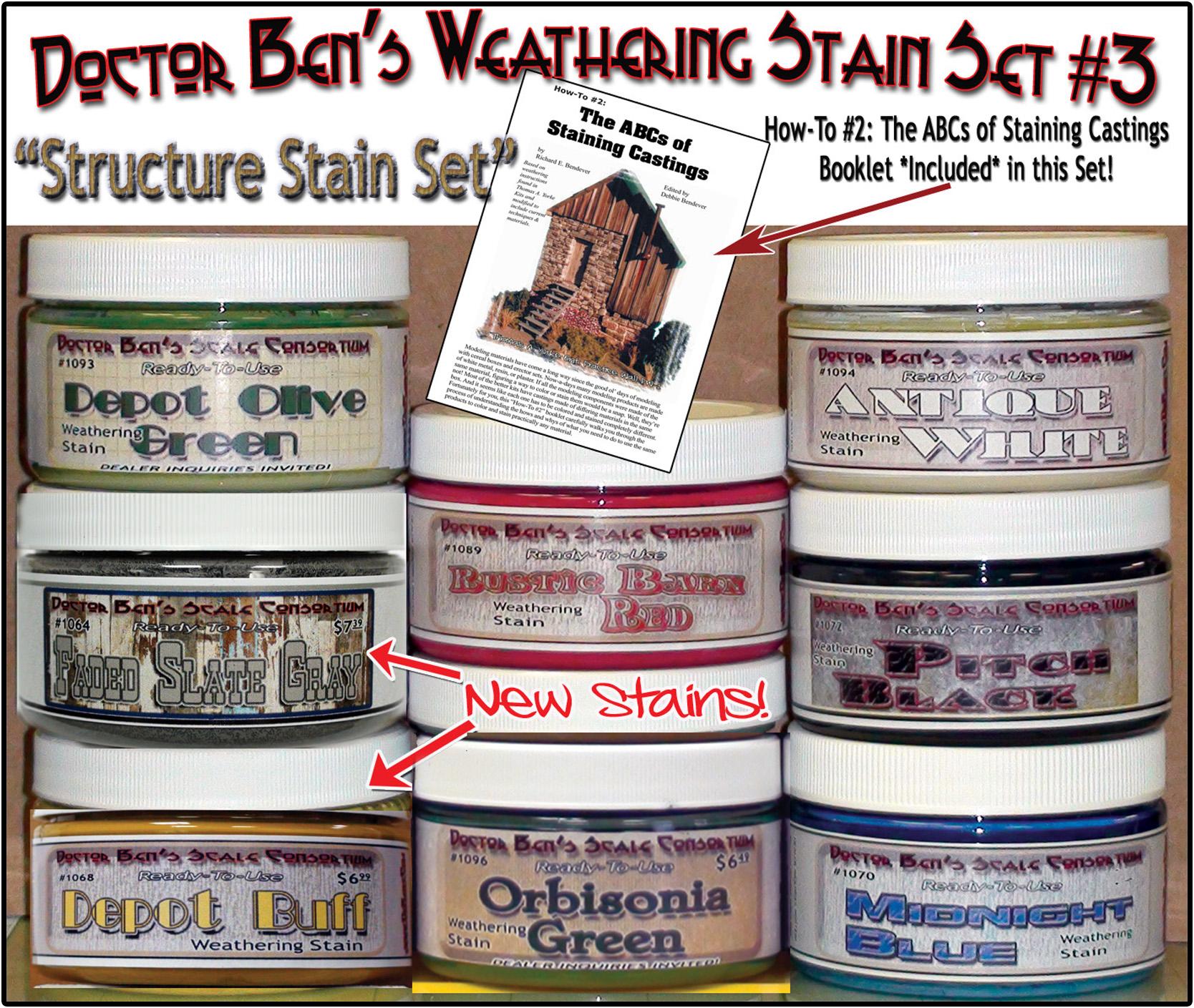 DBZ1097 - Doctor Ben's Weathering Stain