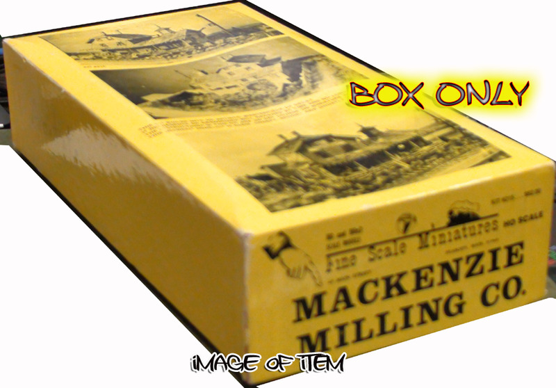 Fine Scale Miniatures #215 Mackenzie Milling Company Kit - FSM BOX ONLY