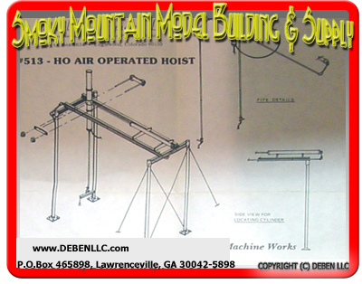 Model Masterpieces #513 Air Operated Hoist