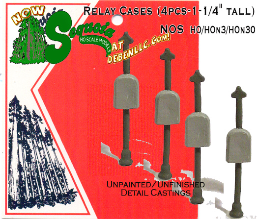 Small Post Relay Cases (4pcs-1-1/4