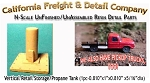 Vertical Retail Storage/Propane Tank (1pc)N/Nn3/1:160-Scale CAL FREIGHT & Detail