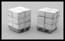 Bee Hives (6pcs) N/Nn3/1:160-Scale California Freight & Details Co