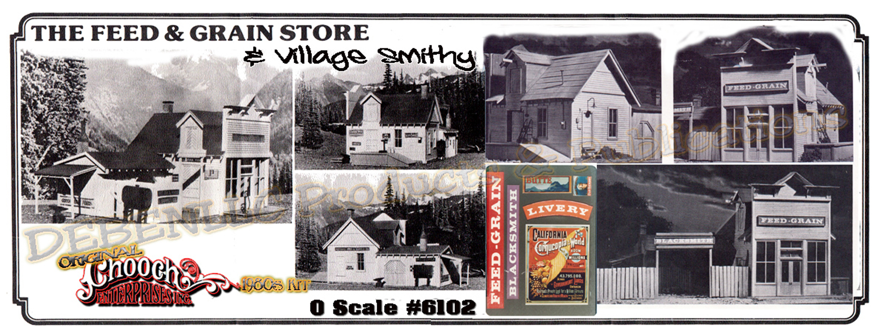 FEED & GRAIN STORE/VILLAGE SMITHY KIT CHOOCH MIB O/ON3/ON30
