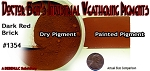 Dark Red Brick Weathering Pigment-2oz Doctor Ben's Scale Consortium