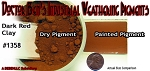 Dark Red Clay Weathering Pigment-2oz Doctor Ben's Scale Consortium