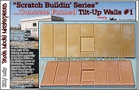 Concrete Formed Tilt-Up Walls for Produce/Office/Warehouse HO/1:87