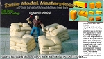 Stacks 'O Sacks-Laying On Ground (4pcs) Scale Model Masterpieces HO/HOn3