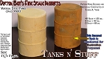 Vertical Round Steel Tank-Small Scale Model Masterpieces/Yorke Multi Scale