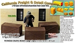 Plywood/Wooden Crates/Boxes-(3pcs-LabStone) Scale Model Masterpieces O/On3/On30/1:48