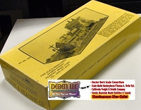 Fine Scale Miniatures JEFFERIES POINT STAVE & HEADING Co Kit BOX, INSTRUCTIONS, & Castings Box