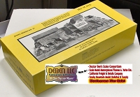 Fine Scale Miniatures Oatman's Mercantile Co Kit BOX, INSTRUCTIONS, & Castings Box