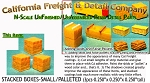 Stacked Boxes-Small (3pcs) N/Nn3/1:160-Scale California Freight & Details Co.