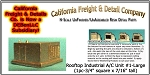 Rooftop Industrial A/C Unit #1-Large (1pc) N/Nn3/1:160-Scale California Freight & Details Co