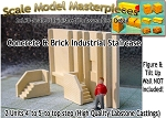 Concrete & Brick Industrial Staircase (2 Units) California Freight & Details Co. N/Nn3/1;160
