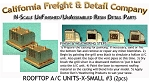Rooftop Residential/Light Business X-Small A/C Unit #3 (2pcs) N/Nn3/1:160- California Freight & Details Co.