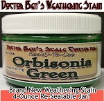 Orbisonia Depot Green Weathering Stain-4oz Doctor Ben's Scale Consortium
