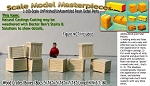 Wood Crates/Boxes (8pcs) Scale Model Masterpieces/Yorke N/Nn3/1:160