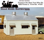 Transition Era/Modern Era Pre-Fab Metal Yard Office Kit Yorke/SMM FSM HO/1;87 *NEW*