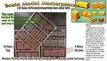 Wooden Pallets & Skids (18+9 total) Scale Model Masterpieces HO/HOn3/HOn30 NEW