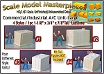 Commercial/Industrial A/C Units-LARGE (1pc) Scale Model Masterpieces HO/HOn3/HOn30/1:87
