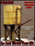 Rio Grande La Jara Water Tank Kit Scale Model Masterpieces/Yorke 1:48/ On3/On2
