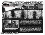 Coke Ovens Kit Scale Model Masterpieces / Thomas A Yorke Ent. O/On2/On30/1:48 *Brand NEW*