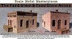 Feed Store & Feed Store Annex 2-in-1 KIT Scale Model Masterpieces / Thomas A Yorke Ent. O/On3/On3O