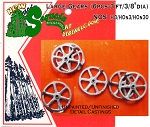 Large Gears (6pcs-3'ft/3/8