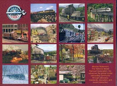 National Model Railroad Association 2009 Annual Membership Calendar HO N HOn3 On30 Sn3