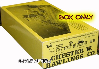 Fine Scale Miniatures #220 Chester W. Rawlings Company Kit - FSM BOX ONLY