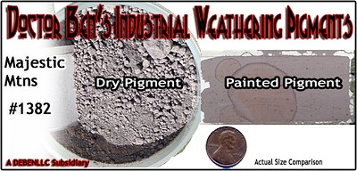 Majestic Mountains Weathering Pigment-2oz Doctor Ben's Scale Consortium