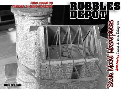 Rubbles Depot Truss Sheet 4 Trusses) Replacement Sections YORKE/HON3/HON30 *NEW*